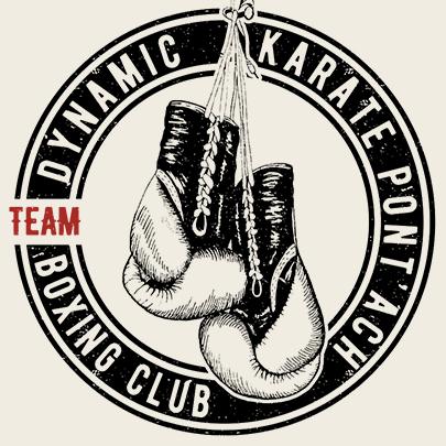Logo Dynamic Karate Pont'ach Boxing Club